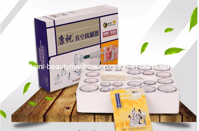 Kangzhu Vacuum Cupping Set 24PCS Acupuncture Massage Suction Cup Magnetic Vacuum Cup Beauty Massage