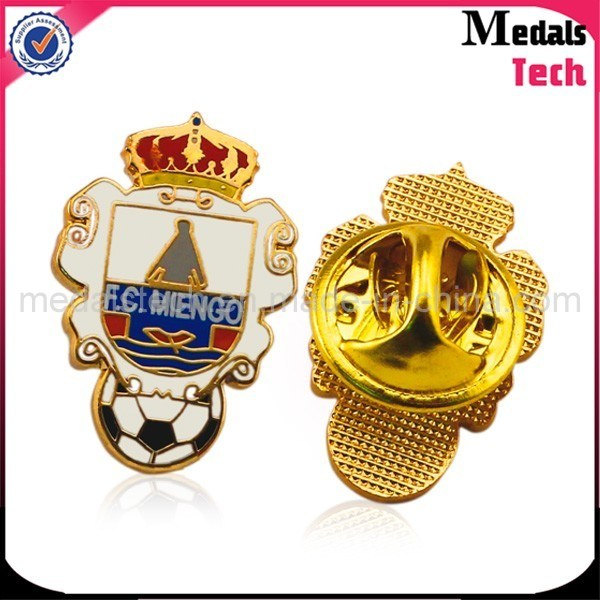 Gold Plated Custom Eagle Shape Quality Military Badges