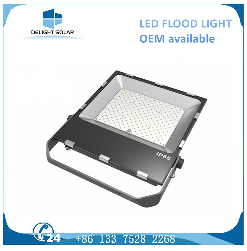 Hot-DIP Galvanized Steel Outdoor Flood Light Solar LED Street Lamp