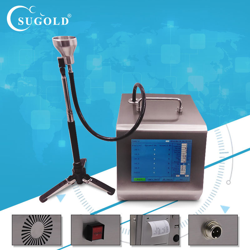 Y09-5100 Factory Direct Laser Airborne Particle Counter