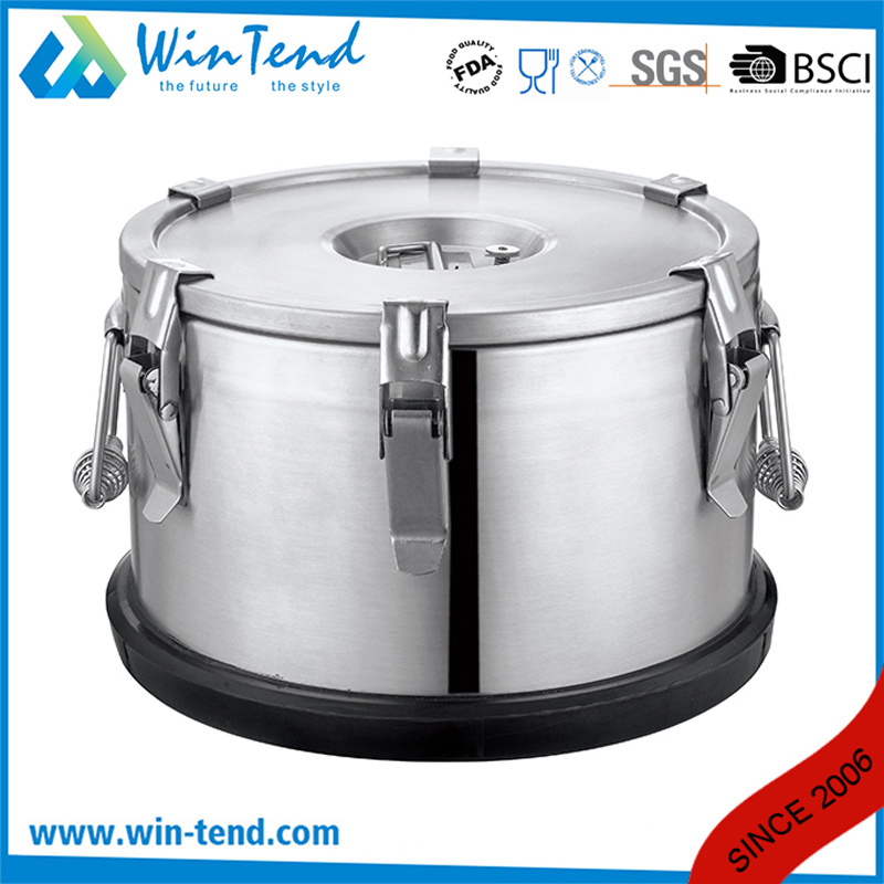 Stainless Steel Insulated Portable Food Container for Easy Transport