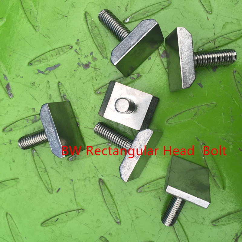 Stainless Steel Rectangular Head Bolt