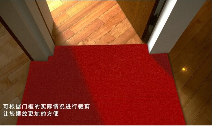 Non-Toxic PVC Coil Floor Mat Bathroom Shower Rug