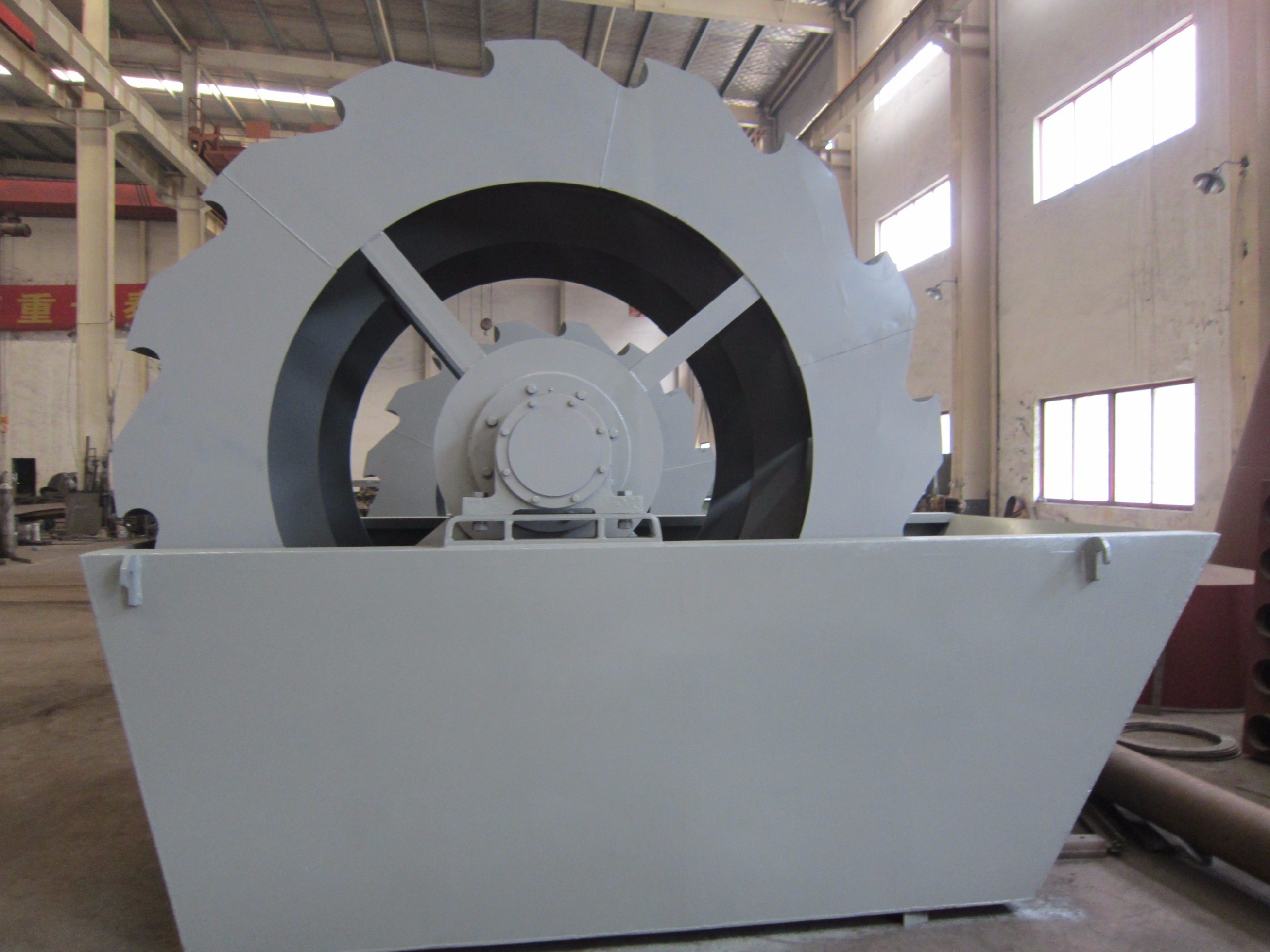 Bucket Sand Recycling Washing Plant for Mining