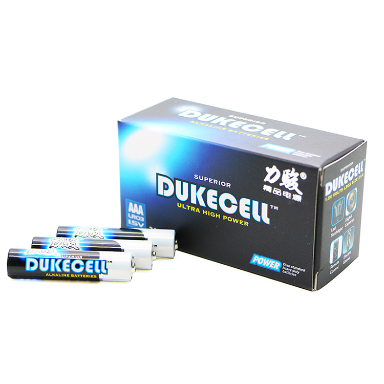 Dry Batteries Lr03 AAA Alkaline Batteries Electronic