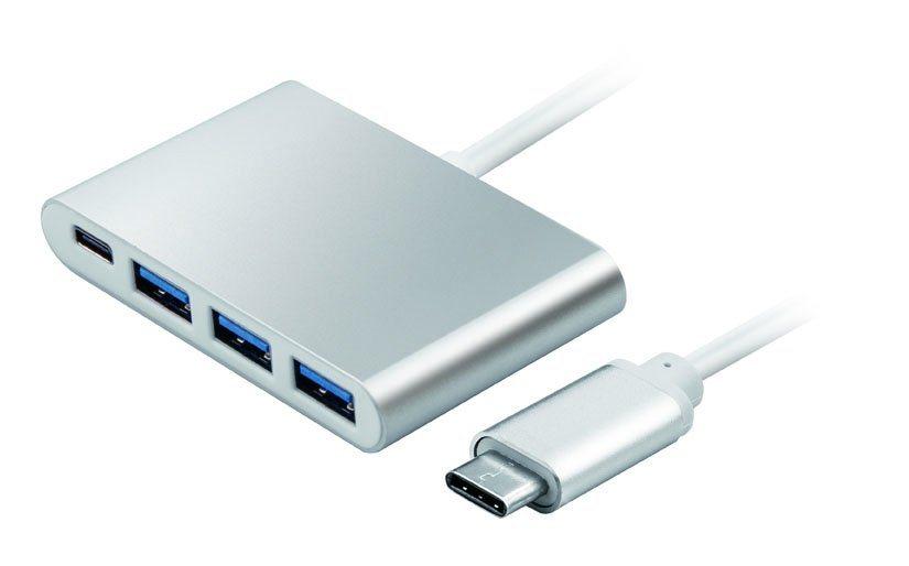 USB3.1 Type C to 3*USB3.0/F + Type C/F Adapter