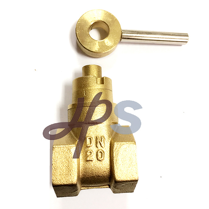 Forged Magnetic Lockable Brass Gate Valve