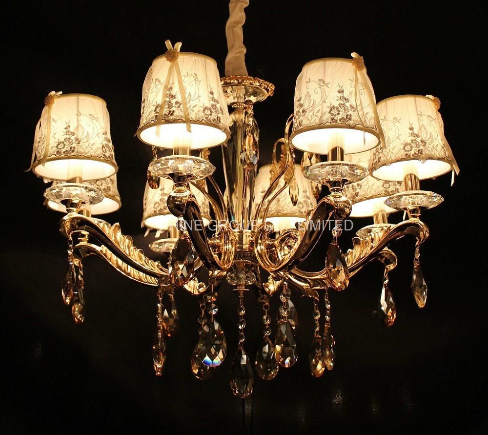 Modern Crystal Decoration Pendant Lamp, Home Chandelier