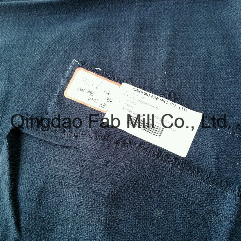 55%Linen 45%Polyester Fabric for Hometextile (QF16-2528)