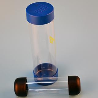 Transparent Plastic Tube