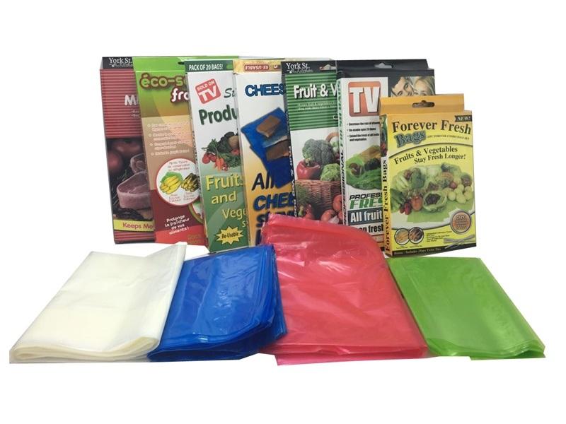 Keep Fresh Green Bag