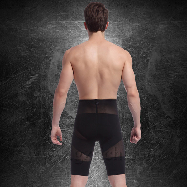 Men Slimming Body Shaper Pants/Men Fitness Pants
