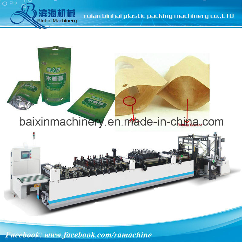 Re-Closed Doy Pack Bag Making Machine Pouch Making