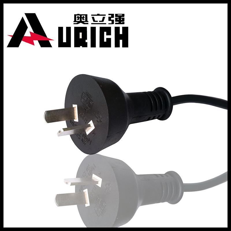 Argentina Iram AC Power Cord with 3-Pin Plug