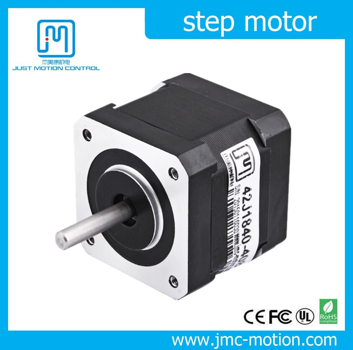 Printer Parts Size 42mm 0.8A 0.32n. M 2 Phase NEMA17 Stepping Motor