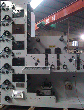 Flexo Printing Machine with 5UV or IR