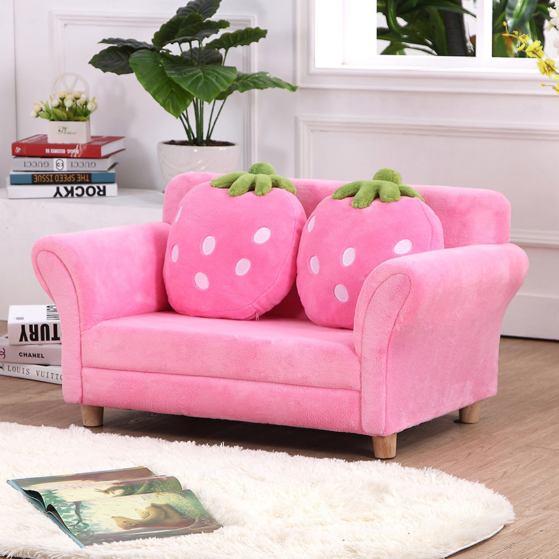 Sweet Baby Strawberry Furniture/Kids Furniture/Sofa with Pillow (SXBB-303)