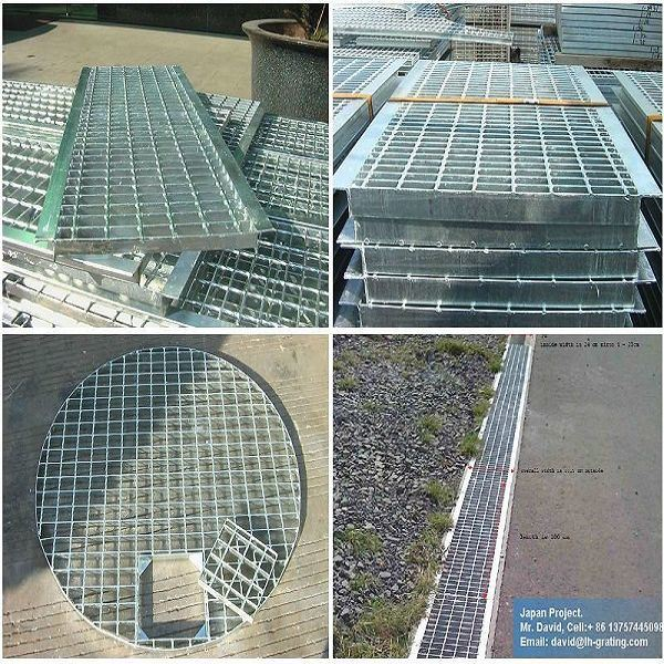 Galvanized Open Steel Floor for Trench Grating and Platform