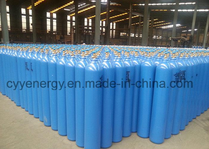 50L Helium Oxygen Nitrogen Lar CO2 Hydrogeen 150bar/200bar Seamless Steel Gas Cylinder