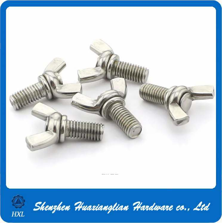 M6 M8 M10 A2 A4 Stainless Steel Wing Butterfly Bolt