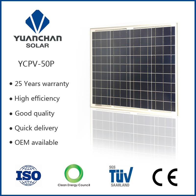 Best China Solar Panel Manufacturers and Solar Panel Price (50W-P)