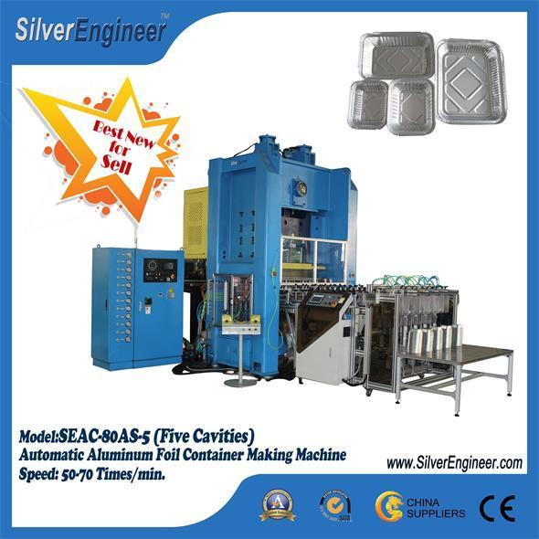 110ton Aluminium Foil Container Making Machines