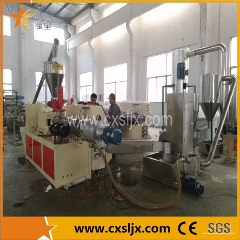 Cutting-in-Water Pellets Extrusion Line