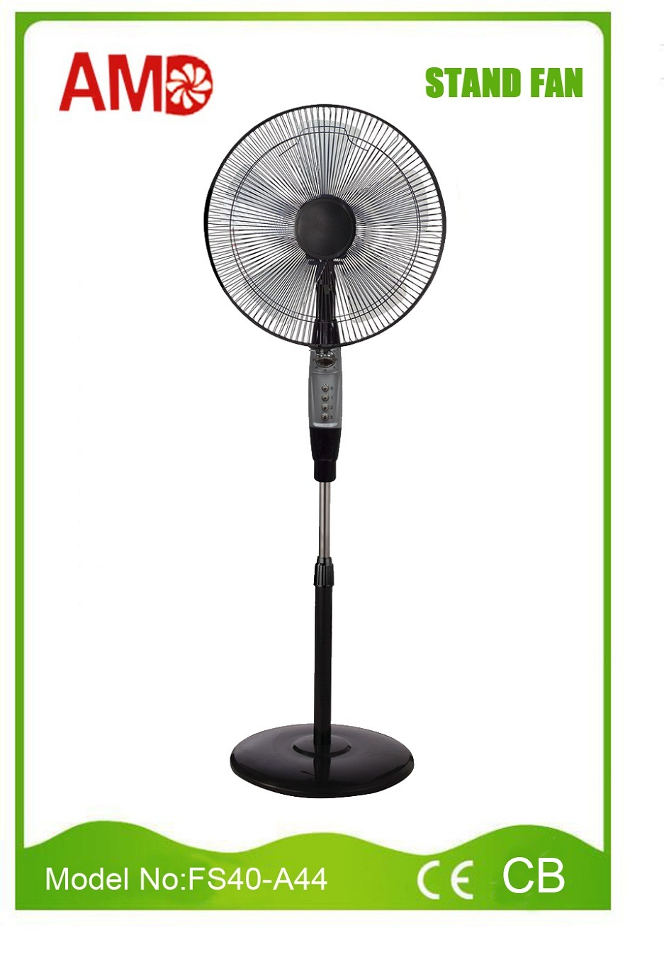 "Hot Sales Competitive Price 16"" Stand Fan (FS40-A44)"