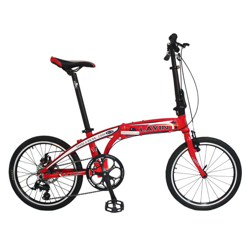 "Lightweight 8-Speed Shimano Altus Folding Bike 20"" Mini Bicycle"