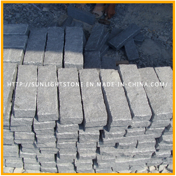 Natural Fan Shape Colorful Cobble/Paving Stone on Mesh for Exterior Garden Landscape and Patio