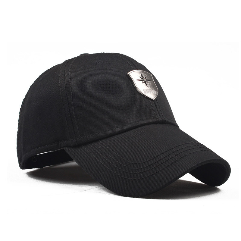 Promotional Wholesale Baseball Sport Cap with Metal Plate