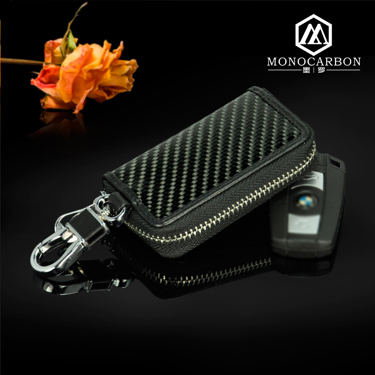 High Quality New Luxury Real Carbon Fiber Men Handbags