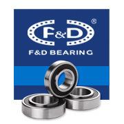 F&D Ball Bearing 6301 2RS Bearing 180301 High Precision Bearing (180100~180316)