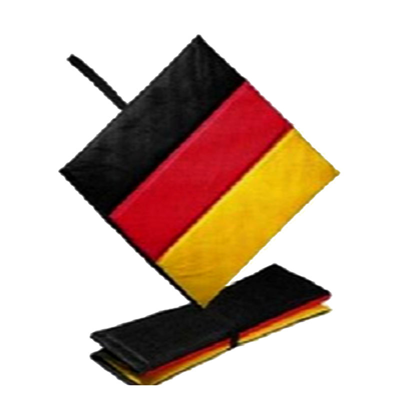 3 Panel Flag Design Foldable Stadium Seat Cushion