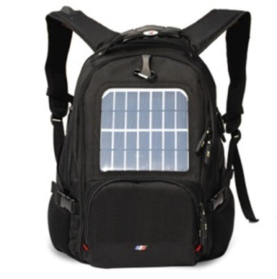 Solar Power Hiking Backpack Can Charger to Power Bank