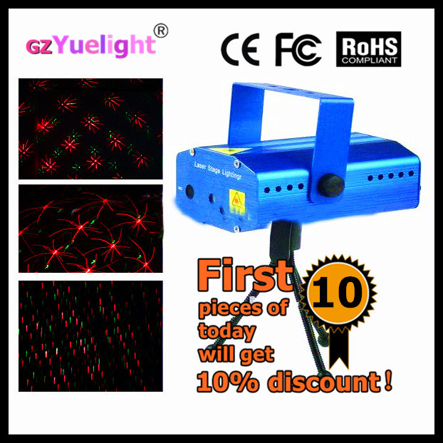 Yuelight Mini Christmas DOT Gobo Pattern Fairy Grid Mini Laser Star Holographic Laser Stage Lighting Price