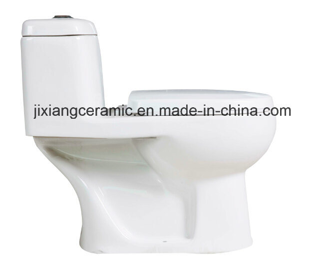 Hot Ceramic One-Piece Toilet 3# Washdown with Saso/Ce