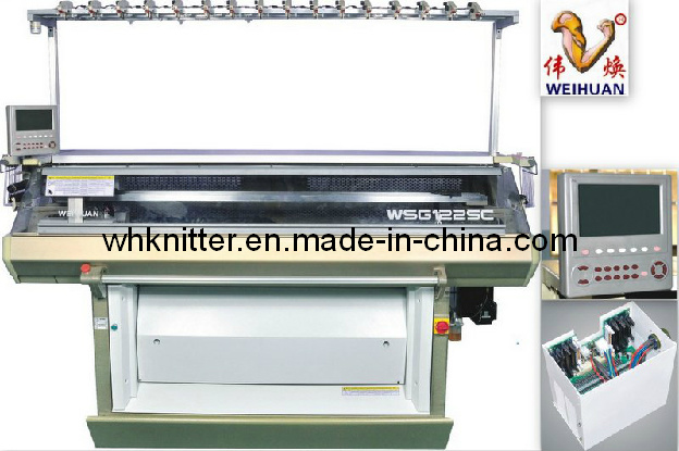 Weihuan (WH) Wh-F Automatic Double System Flat Knitting Machine (12G) Ssg
