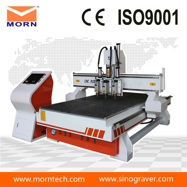 Multi-Head Wood CNC Router Machine