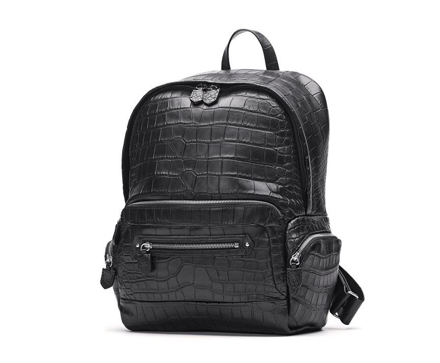 Wholesale Factory Crocodile Leather fashion Backpack (LDO-1002)
