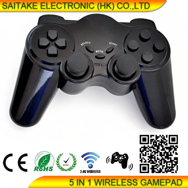 Wireless Game Controller for PS2/PS3/PC 3 in 1
