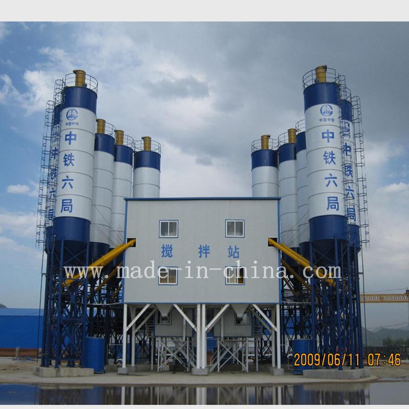 120m3/H Siemens PLC Control Concrete Batching Plant/ Concrete Mixing Plant