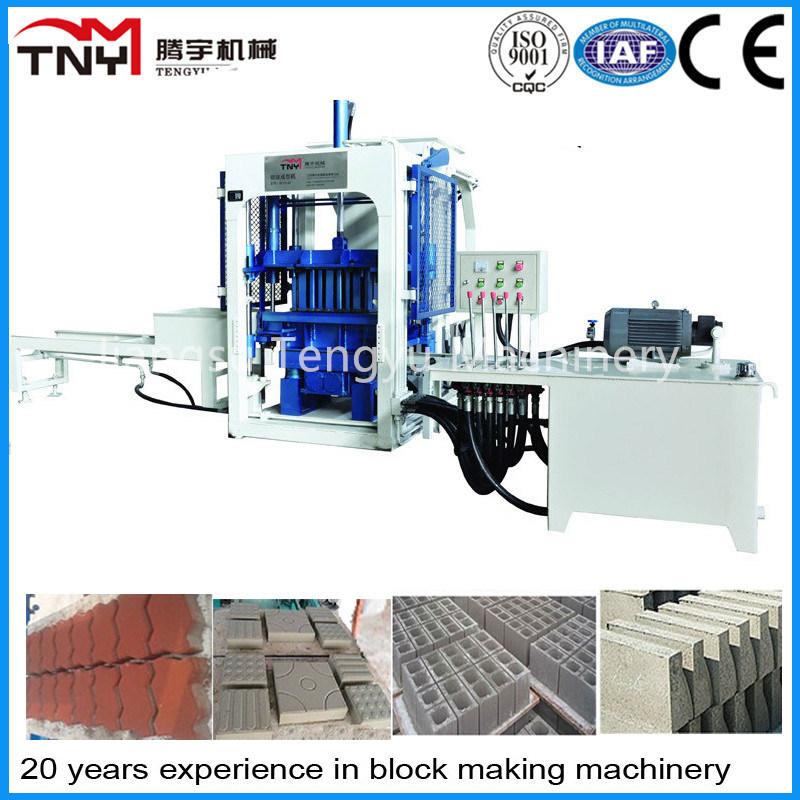 Qft3-15 Semi-Automatic Paver Making Machine