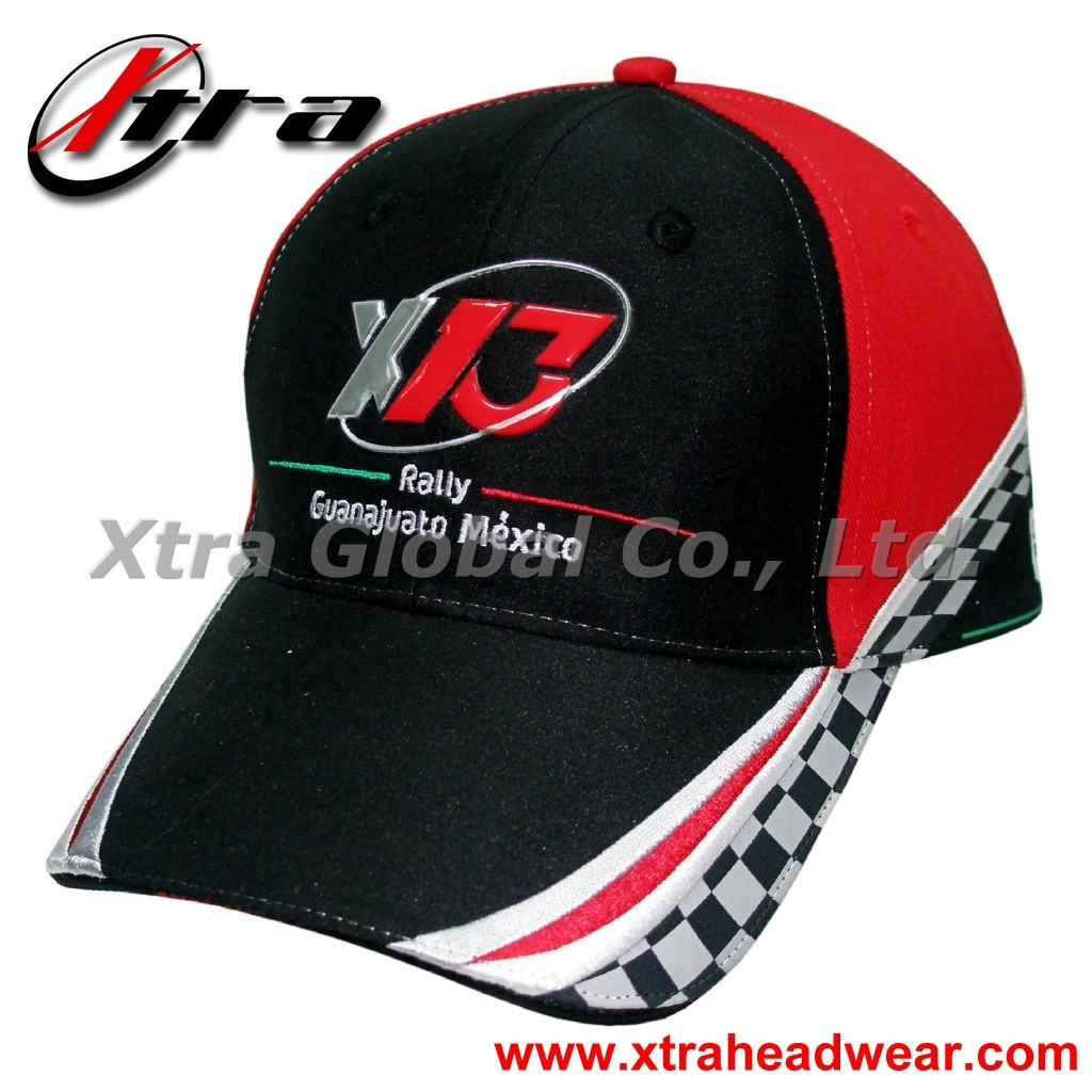 High Frequency Logo Racing Cap (XT-R007)