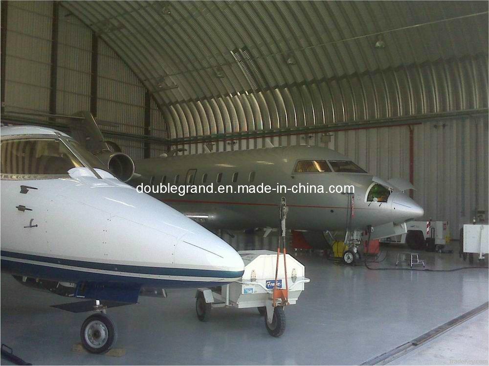 Prefabricated Steel Structure Aircraft Hanger (DG7-007)