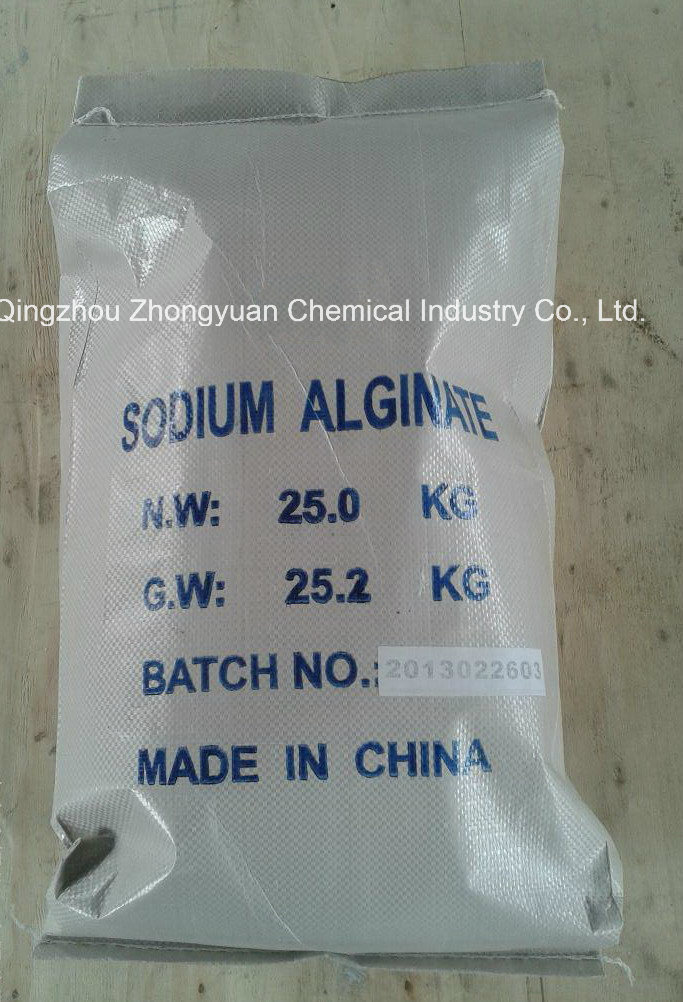 Sodium Alginate for Active Cotton Pringting, Textile Printing and Dyeing Auxiliary Agent