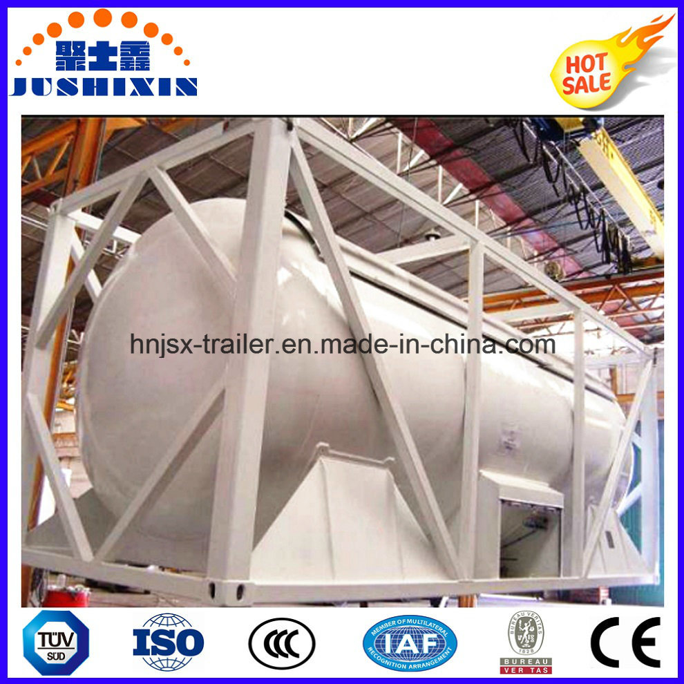 40FT 20FT 22.5cbm ISO Bulk Coal/Cement Powder Tank Container