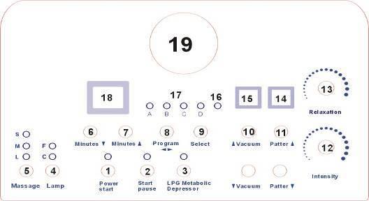 Breast Massage Machine &Electric Vibrating Breast Massager B8316A