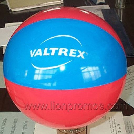 Logo Printed Summer Inflatable Toy Beach Ball