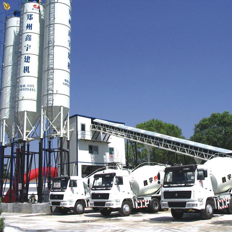 PLC Automatic Concrete Mixing Plant (HZS90)